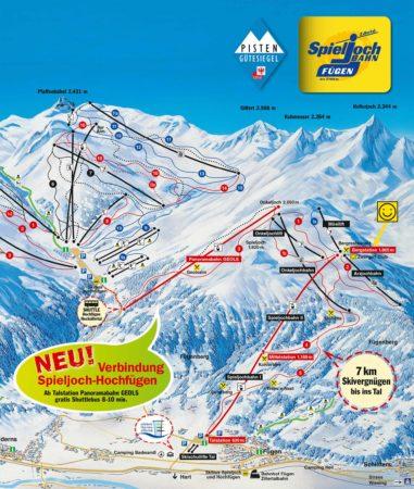 Panoramakarte Spieljochbahn