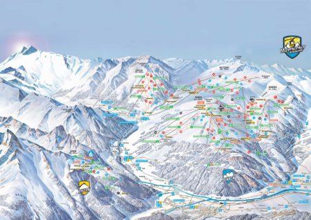 Panoramakarte Mayrhofen